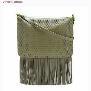 Vince camuto leather cross body